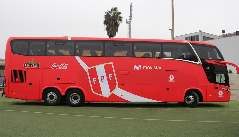 Selección Peruana: conoce el nuevo bus que acompañará a la blanquirroja